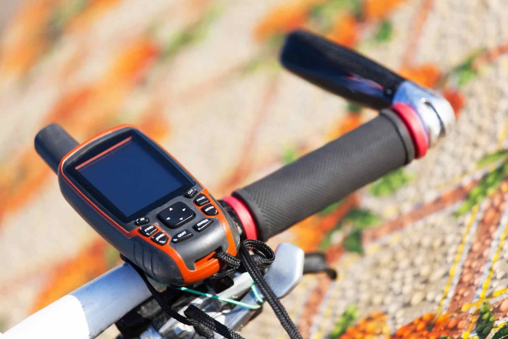 bicycle gps navigation unit