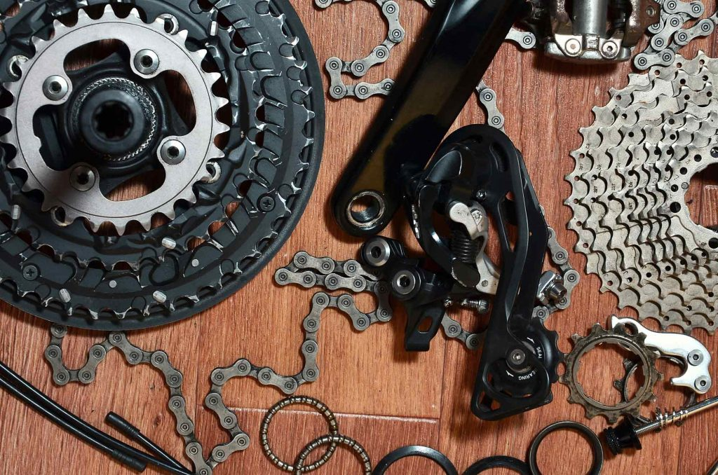 bike chain parts
