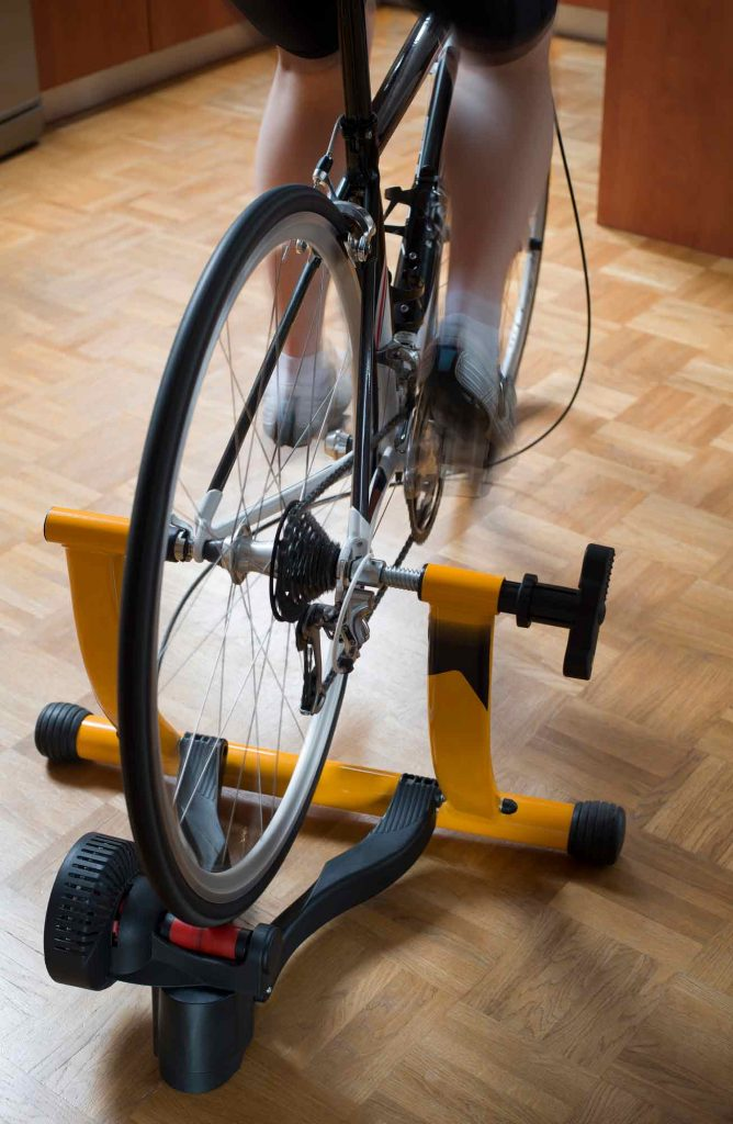indoor bike trainer for cyclists