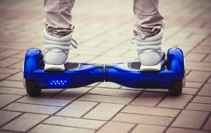 how to ride a hoverboard