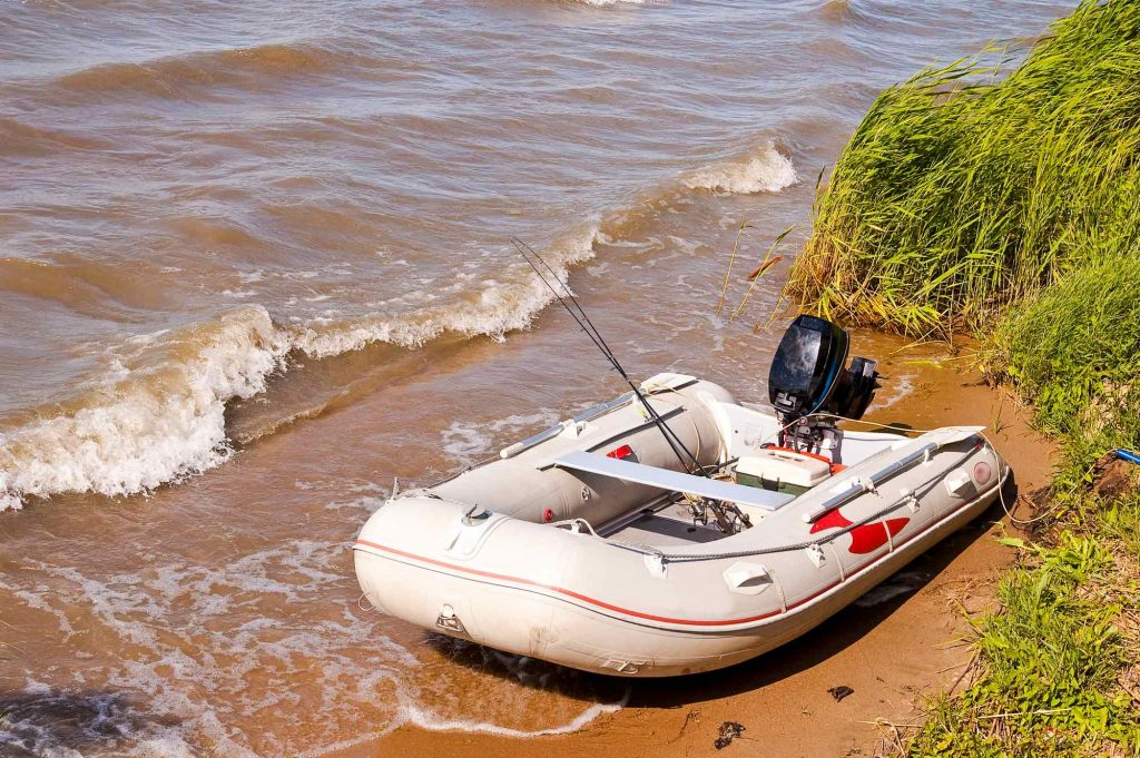 inflatable boats motor