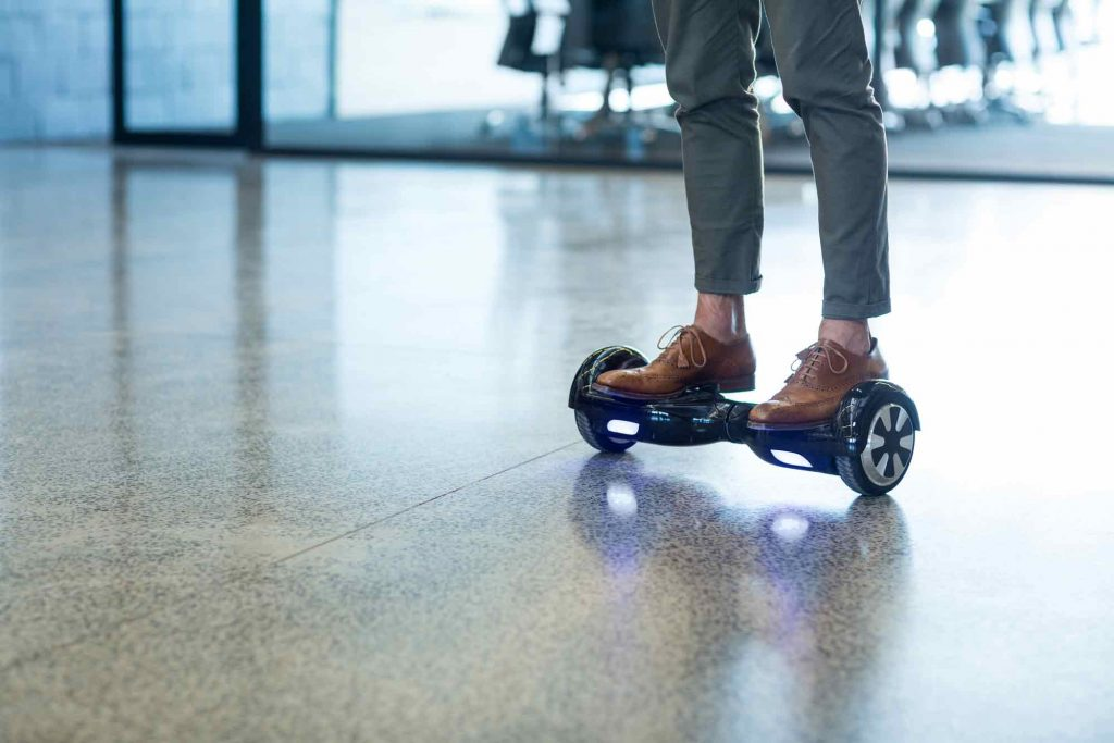 learn how to go hoverboarding