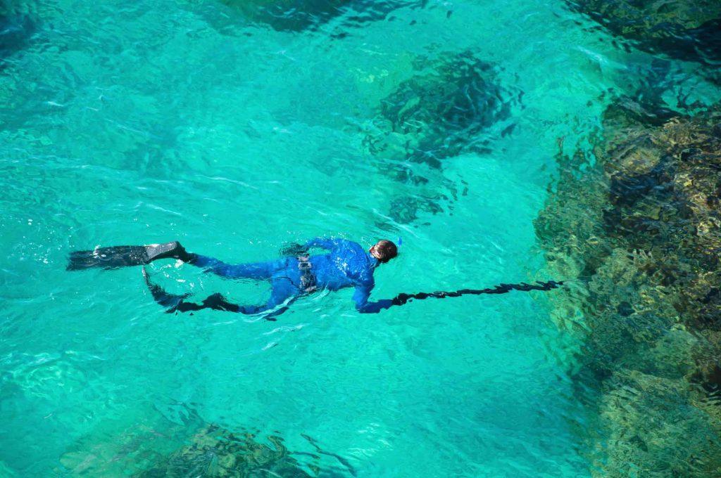 scuba diving hunter