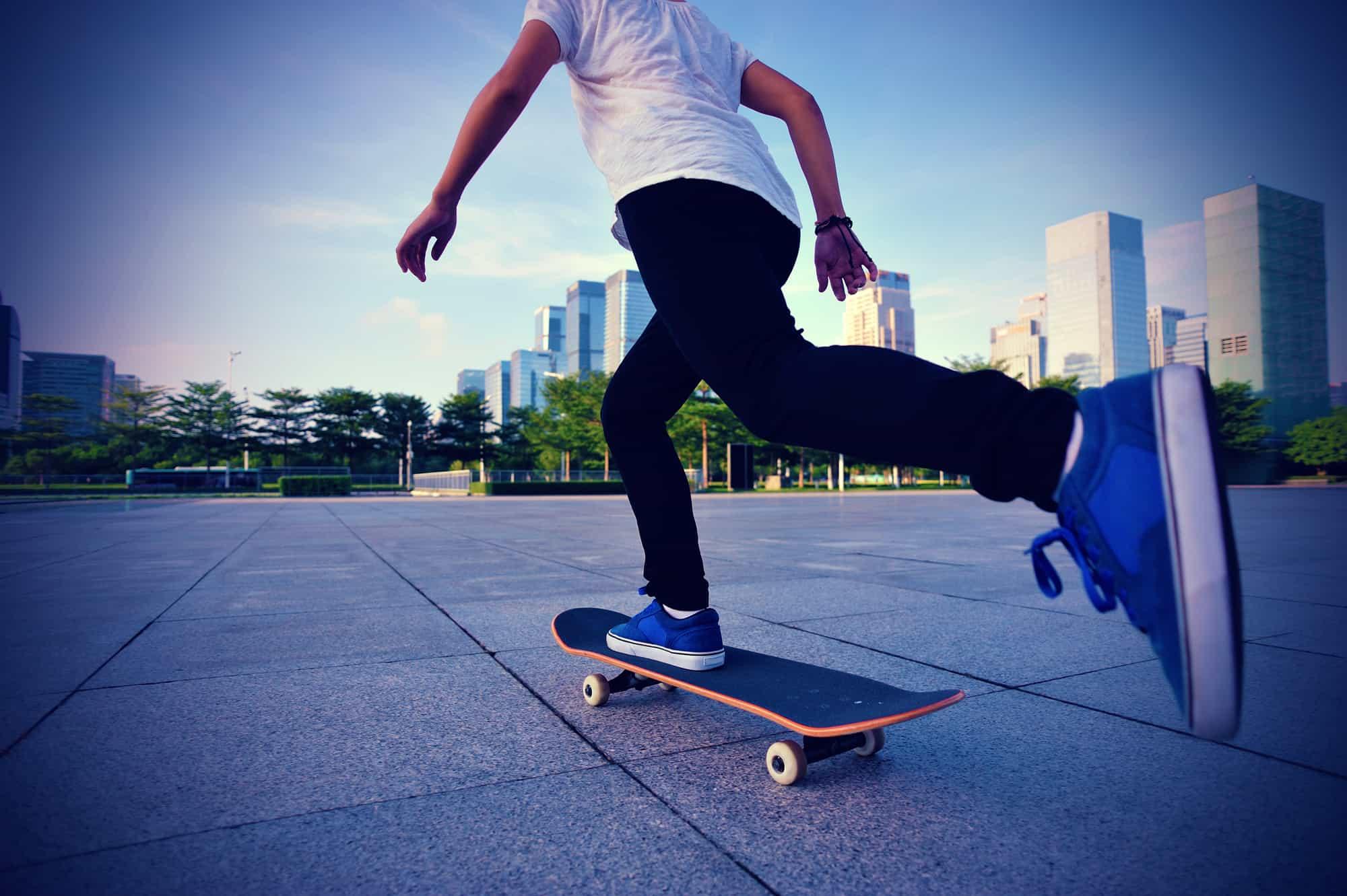 is skateboarding good exercise