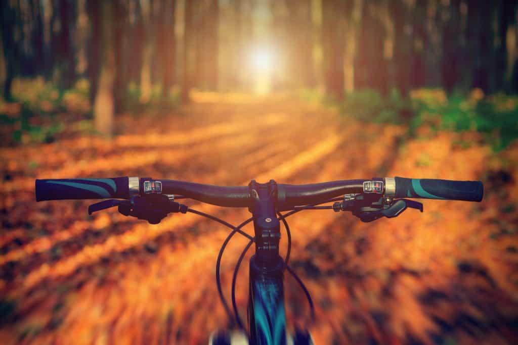 mountain bicycle handle bar