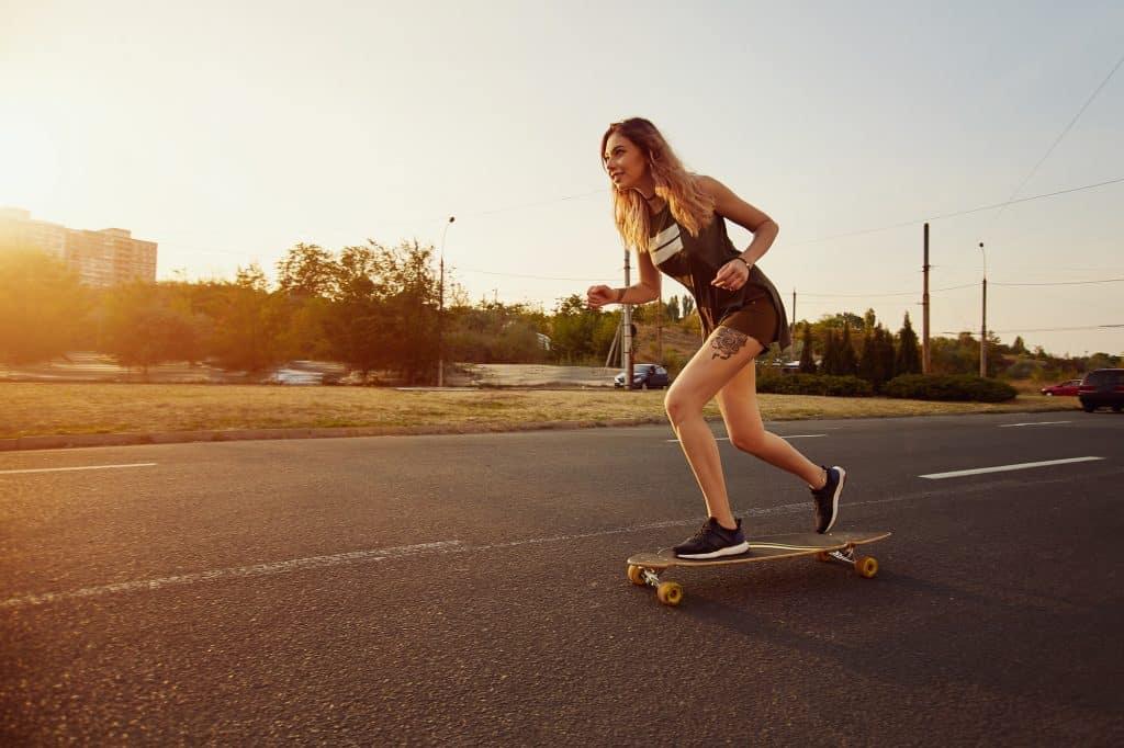 skateboard riding health benefits