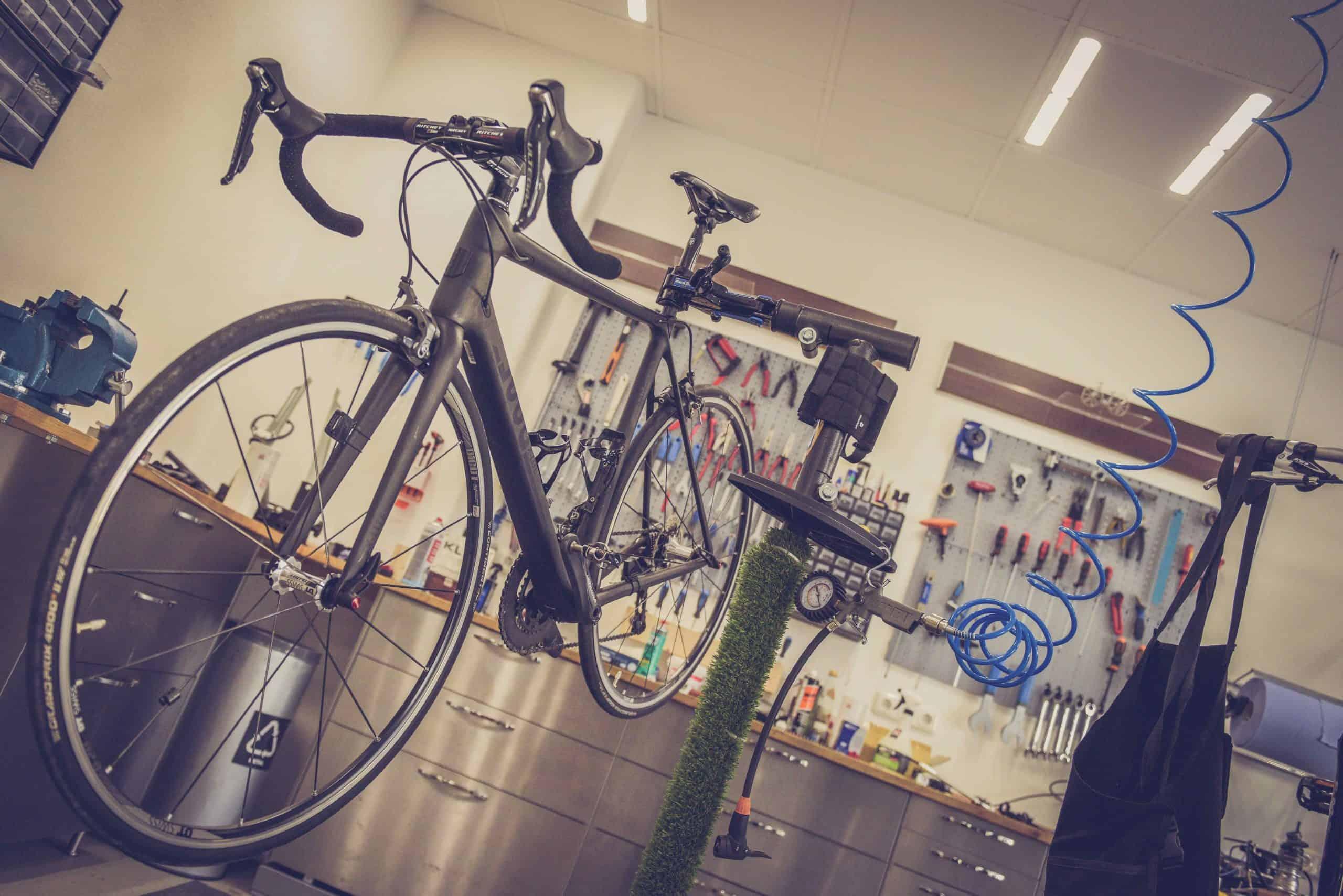 bike repair stands