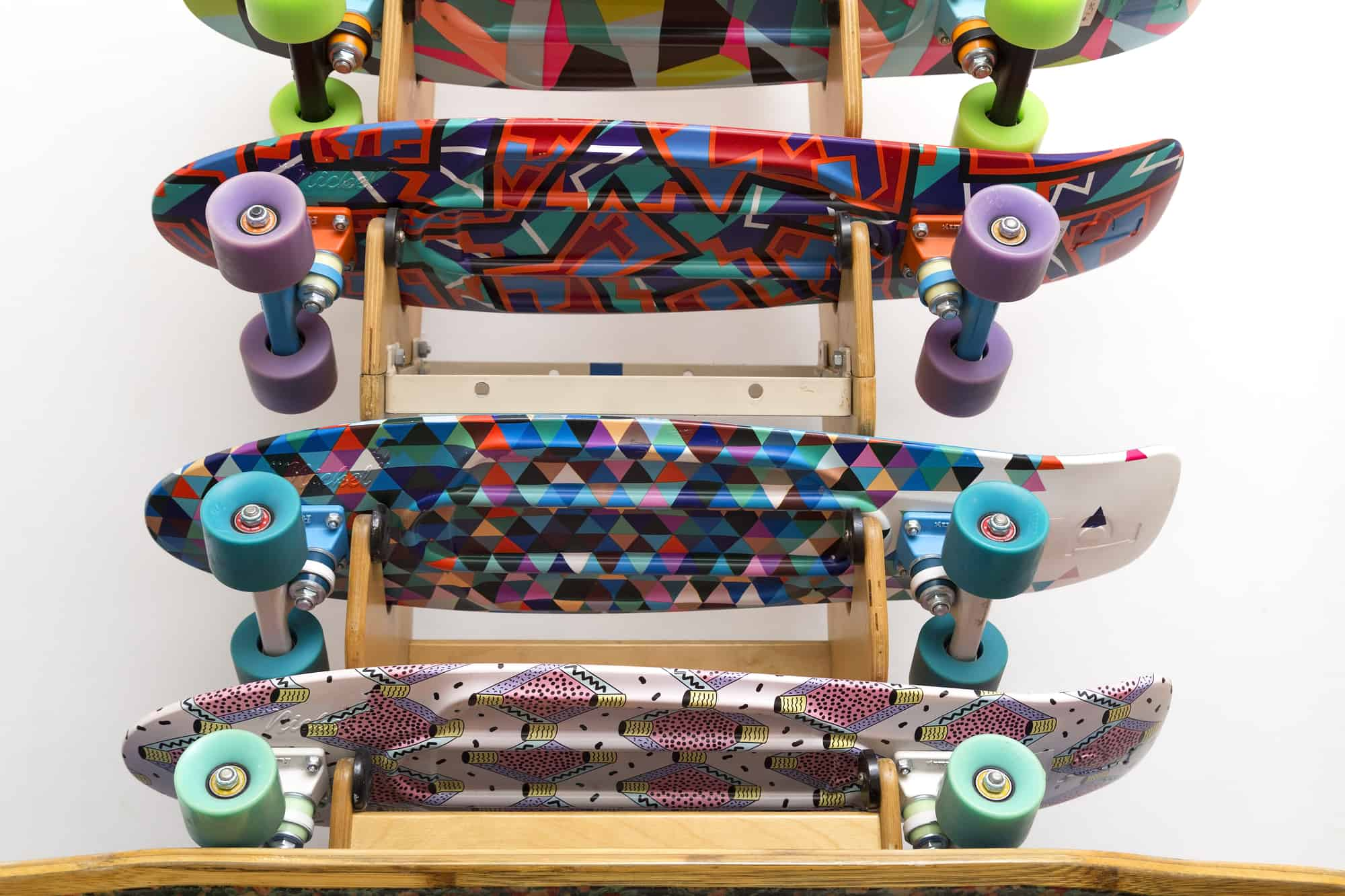 how to store a skateboard