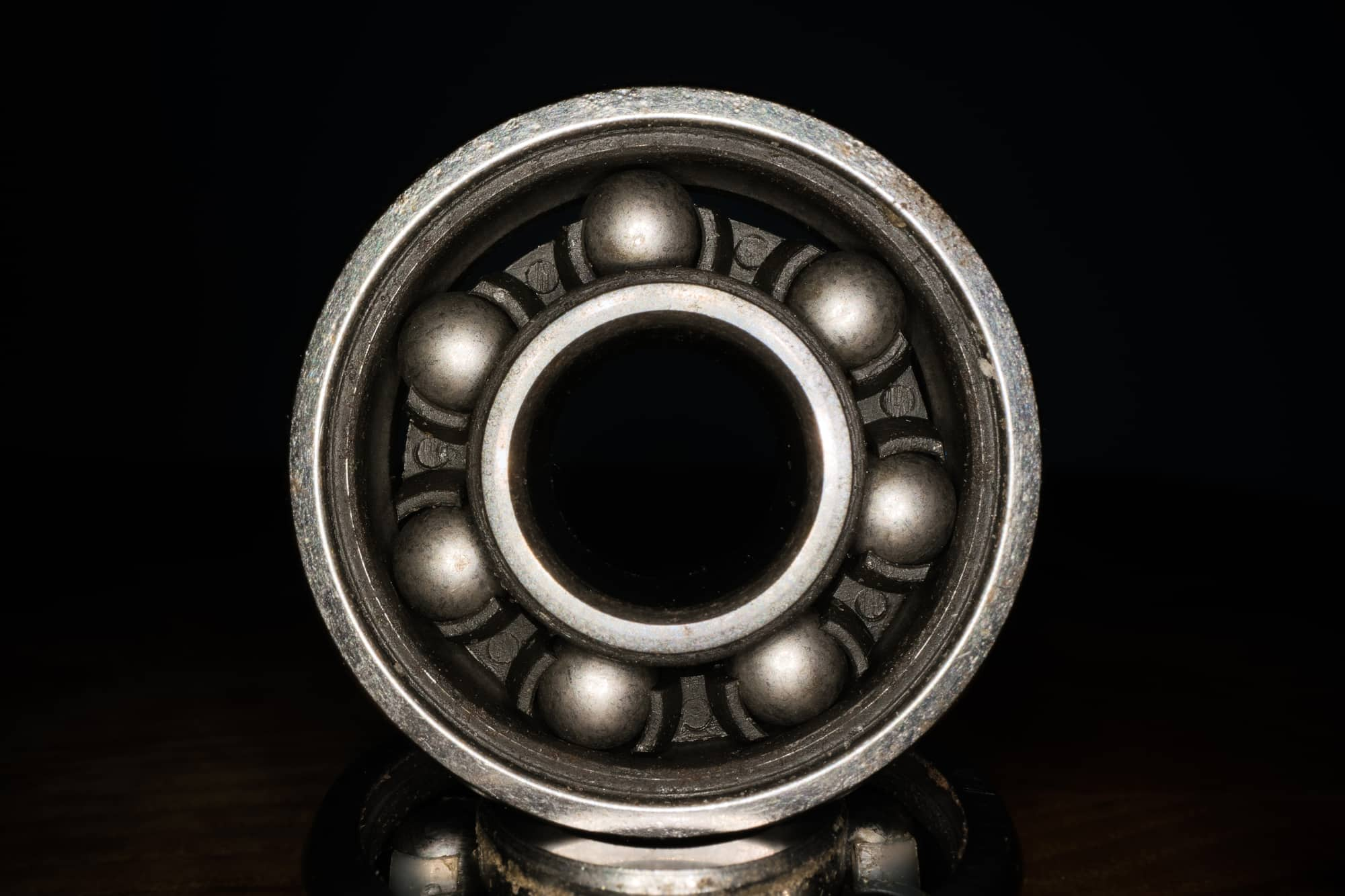 clean skateboard bearings