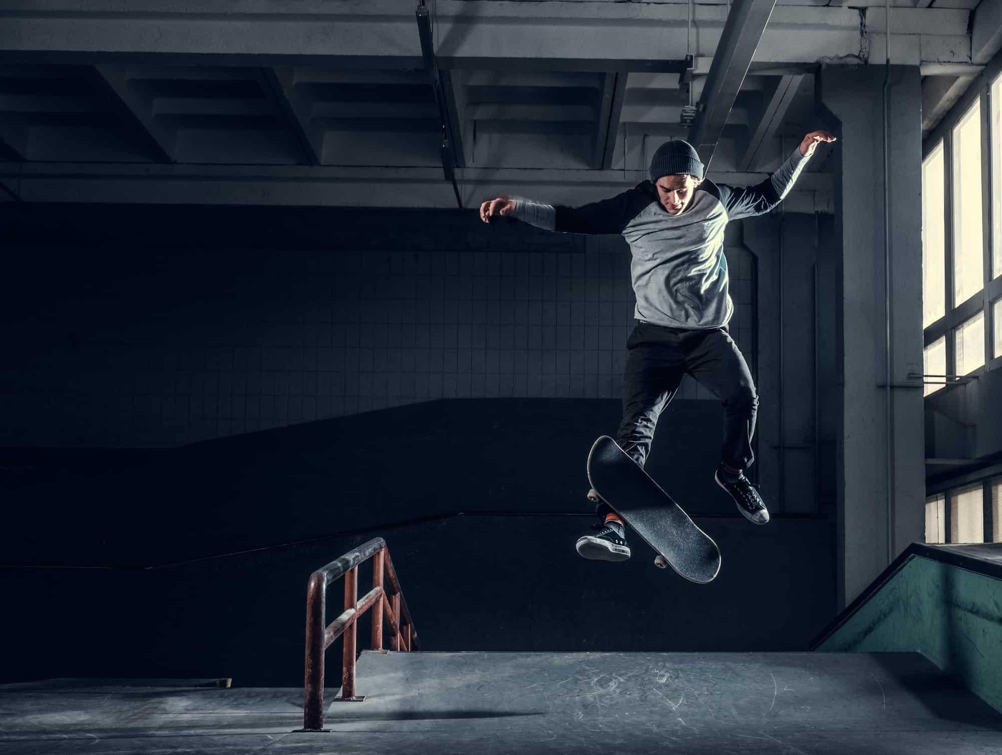 make a skateboard rail