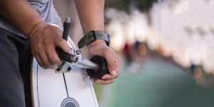 skateboard riser pads
