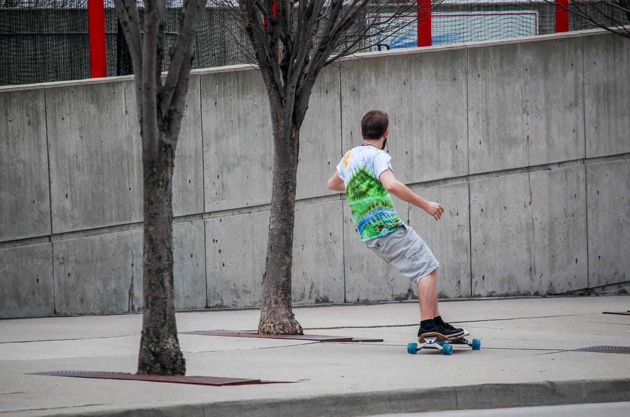 skateboarding lose weight